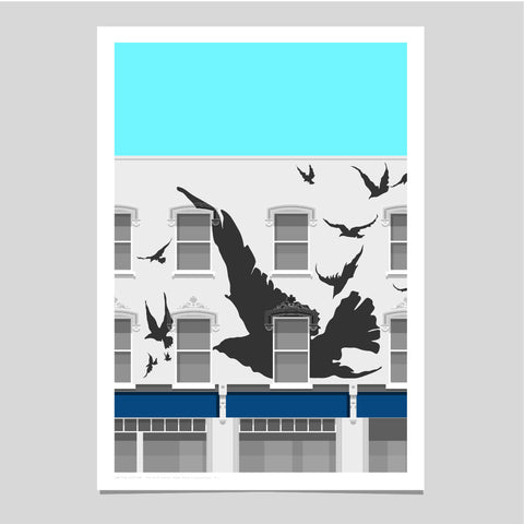 A2 Limited Edition - The Bird House, Leytonstone Art Print  -  (20 only - 12 left)
