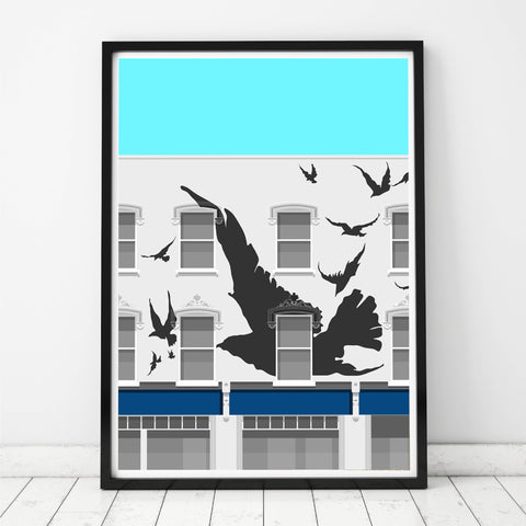 A2 Limited Edition_The Bird House, Leytonstone Art Print   -   (20 only - 15 remaining)