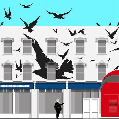 A2 Limited Edition_The Birds, E11 Art Print   -   (50 only - 27 left)