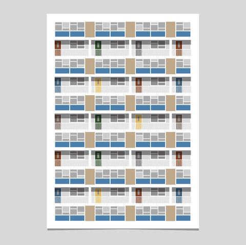 Lambeth Art Print