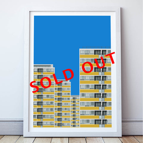Limited Edition_Churchill Gardens Estate Art Print - SOLD OUT