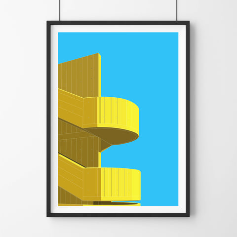 A2 Limited Edition  -  Hayward Gallery Steps, London (30 Only)
