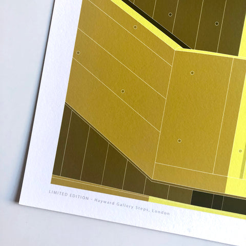 A2 Limited Edition  -  Hayward Gallery Steps, London - (30 only)