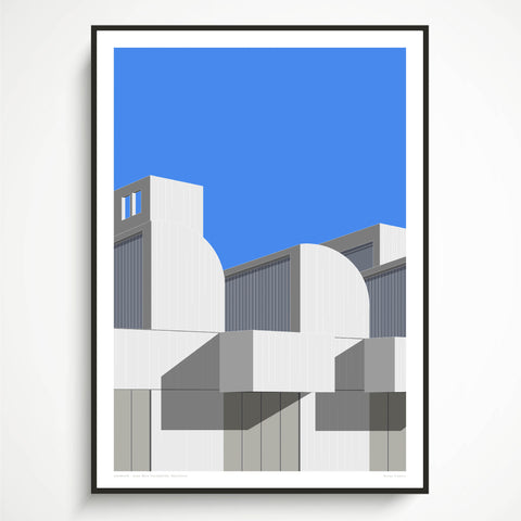 Joan Miró Foundation, Barcelona Art Print