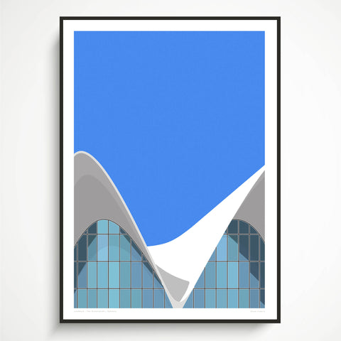 EX DISPLAY  Oceanografic, Valencia Art Print (ONE AVAILABLE)