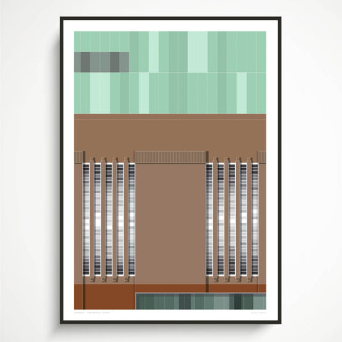 Tate Modern, London Art Print