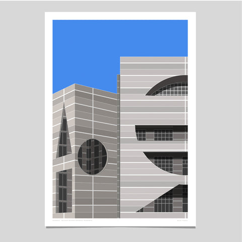 National Assembly, Bangladesh Art Print