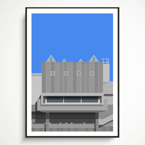 A1 Large Format Limited Edition - Hayward Gallery Art Print - (10 Only)