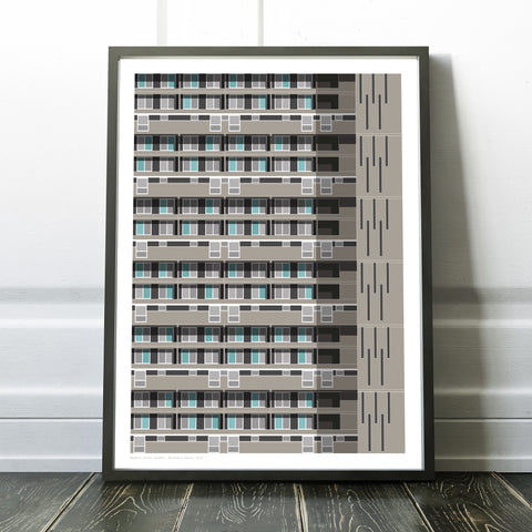 Glenkerry House Art Print