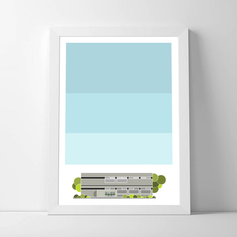 N16 Stamford Hill Library Art Print