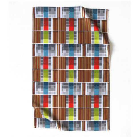 Willow Road Doors Tea Towel