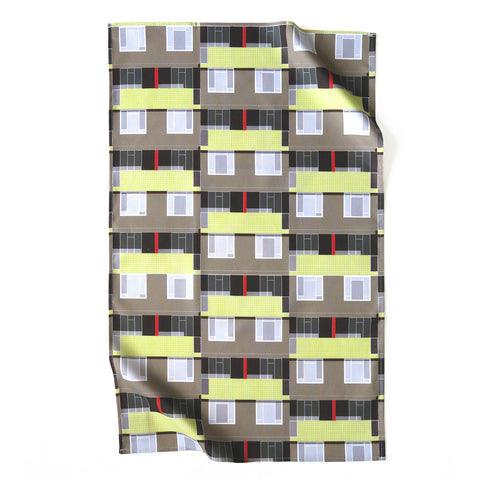 Spa Green Estate Tea Towel