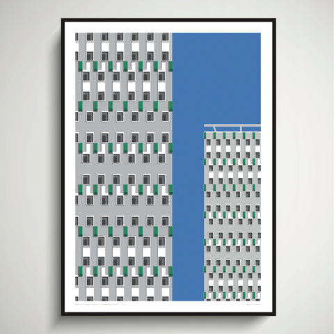 Cranbrook Estate Art Print