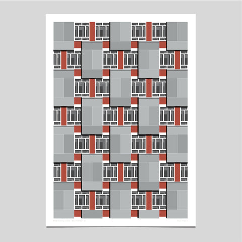 Dorset Estate Art Print