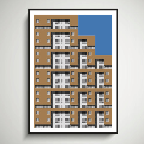 Riverview, Yonkers, NY Art Print