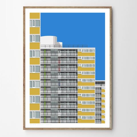 A2 Limited Edition - Ripley House, Churchill Gardens Estate - (30 only)
