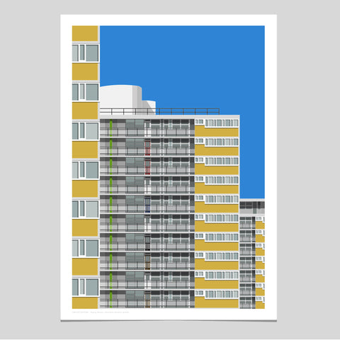 A2 Limited Edition - Ripley House, Churchill Gardens Estate (30 only)