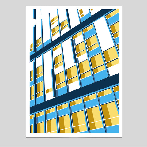 Raze - Robin Hood Gardens 1972-2017 - Limited Edition Screen Print (LAST FEW)