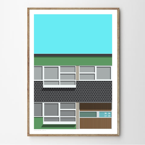 A2 Limited Edition_Span 09 Art Print   - (20 0nly)