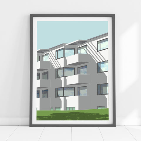 Bellavista Apartments Art Print