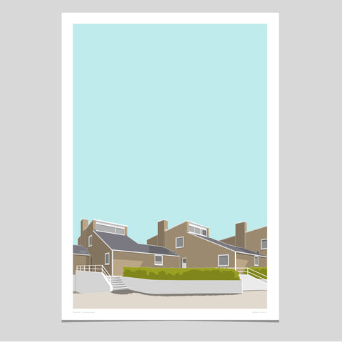 Søholm I Art Print - Dawn