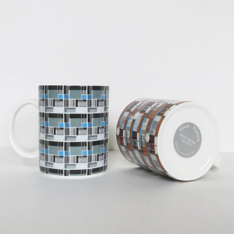 Pattern Architecture Mugs - Set of 3