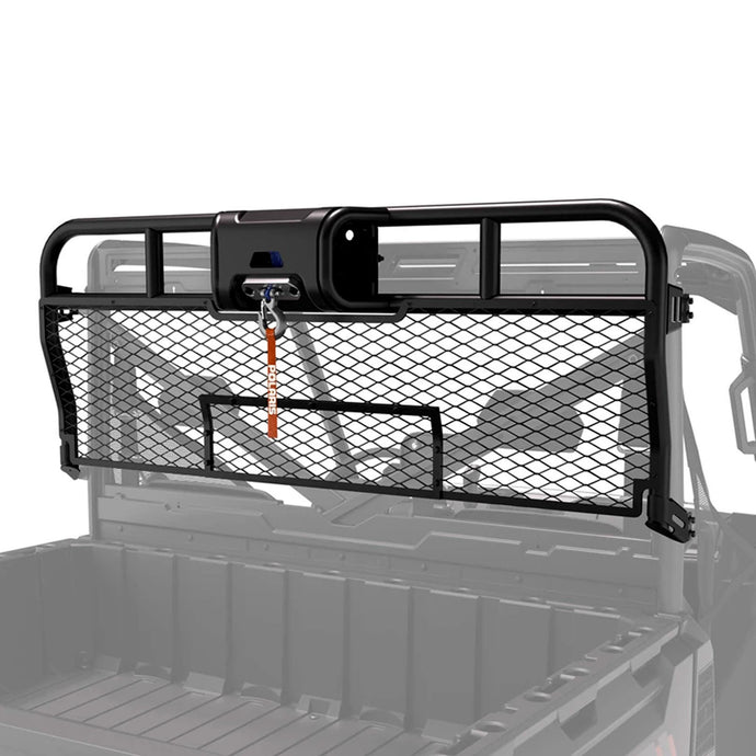 2018+ Polaris Ranger Cargo Bed Rear Hunting Winch Headache Rack - Thumper Fab