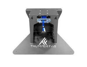 Thumper Fab - Polaris Bed Mount Winch,Hay Bale Winch,Hunting Winch,Polaris Ranger,Polaris Lock-N-Ride