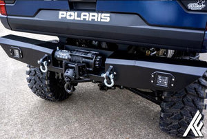 Thumper Fab - Polaris Ranger Light kit,Polaris Ranger Winch Ready Bumper Light Kit