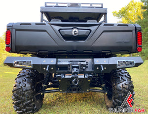 Can-Am Defender Winch Ready Rear Bumper - Thumper Fab