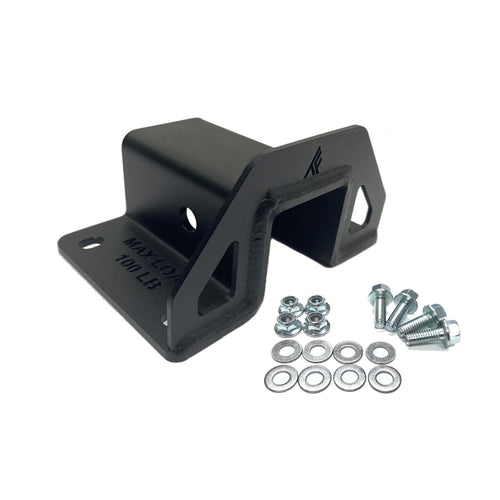 Receiver Hitch, winch ready bumpers, Polaris Ranger hitch, Polaris General hitch, Can-Am Defender hitch, UTV 2 inch Universal Receiver Hitch