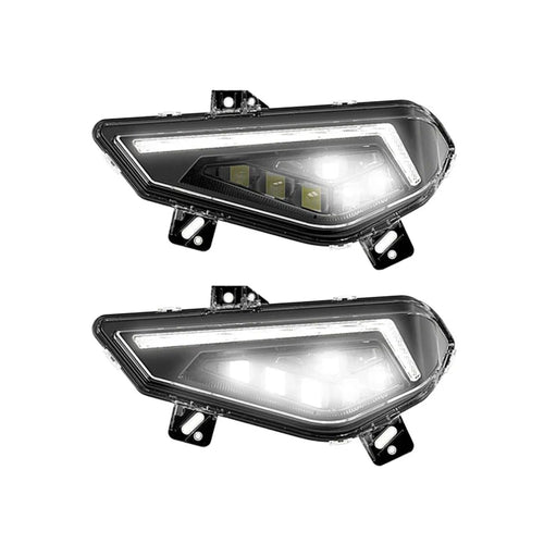 2018+ Polaris Ranger LED Headlight Kit - Thumper Fab