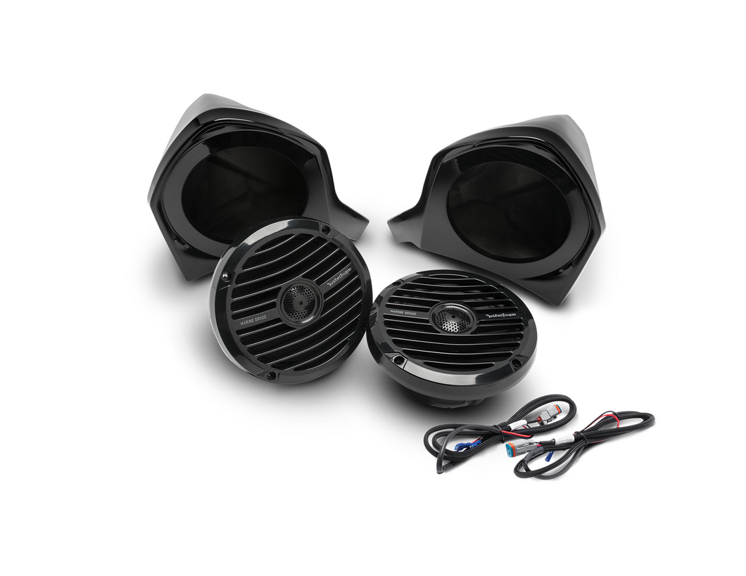 Rockford Fosgate Add-on Front Upper Speaker for Yamaha YXZ (Stages 2/3) - Thumper Fab
