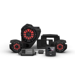 2014+ Polaris RZR Rockford Fosgate Audio Kit Color Optix Gen 3 (Stage 3) - Thumper Fab