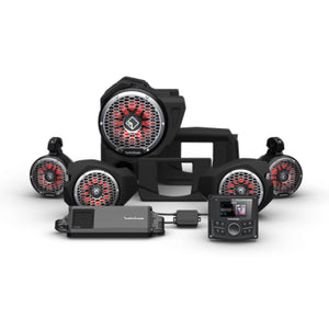 2014+ Polaris RZR Rockford Fosgate Audio Kit Color Optix Gen 3 (Stage 5) - Thumper Fab
