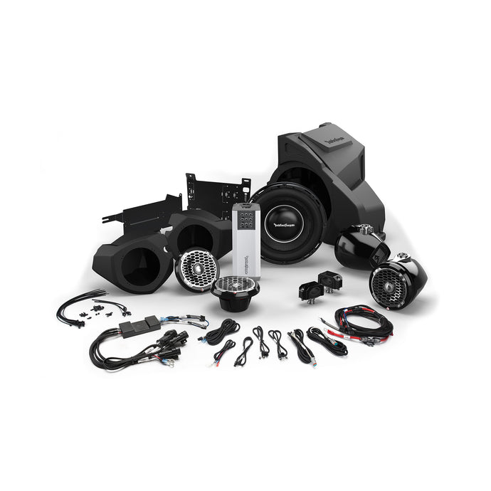 2014+ Polaris RZR Ride Command Rockford Fosgate Audio Kit (Stage 5) - Thumper Fab