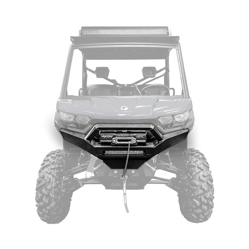 Can-Am Defender Front Winch Bumper - Thumper Fab