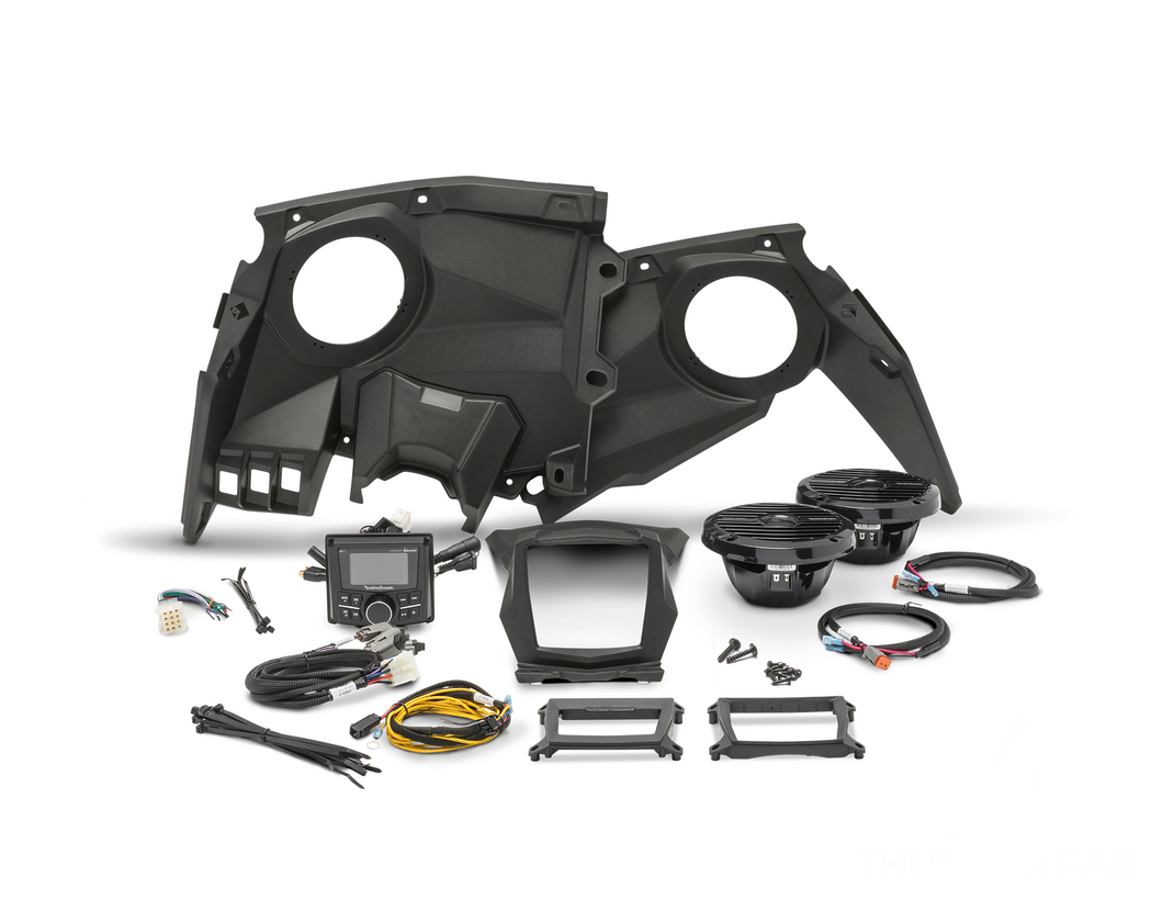 2017+ Can-Am Maverick X3 Rockford Fosgate Audio Kit (Stage 2) - Thumper Fab