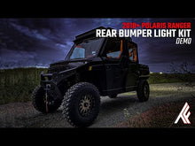 Load and play video in Gallery viewer, Polaris Ranger Winch Ready Rear Thumper Bumper Lights