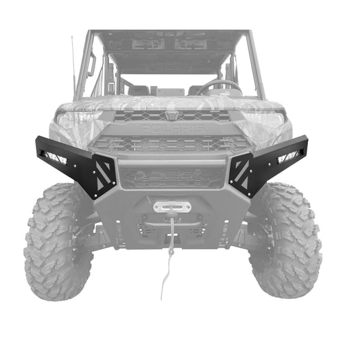 2018+ Polaris Ranger Factory Front Bumper Light Kit - Thumper Fab