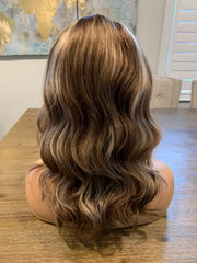Luscious blonde with highlights 16 inches