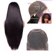 Silky straight Brazilian front lace