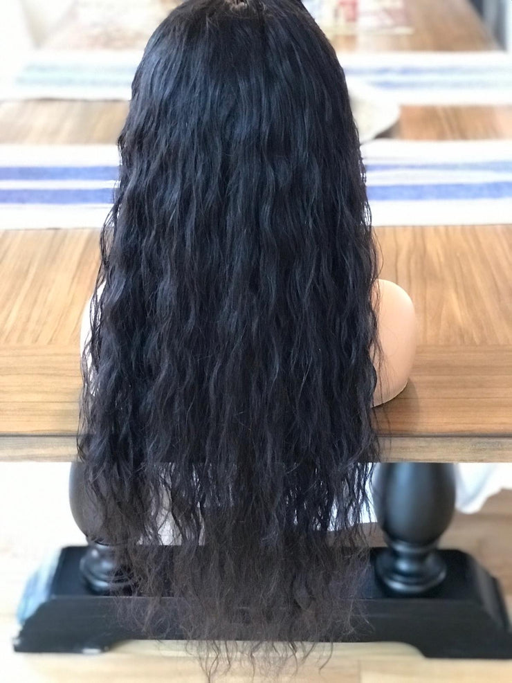 Brunette beauty loose waves 26 inches full lace