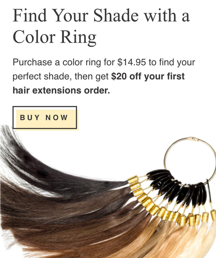 Colour ring Match the colour to your hair