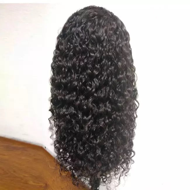Brazilian Water wave curl natural colour 150% density
