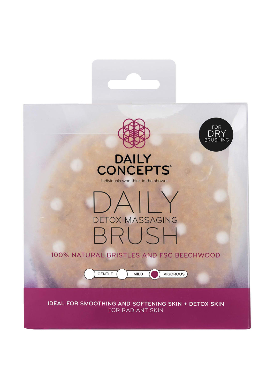 Daily Concepts Detox Massage Brush