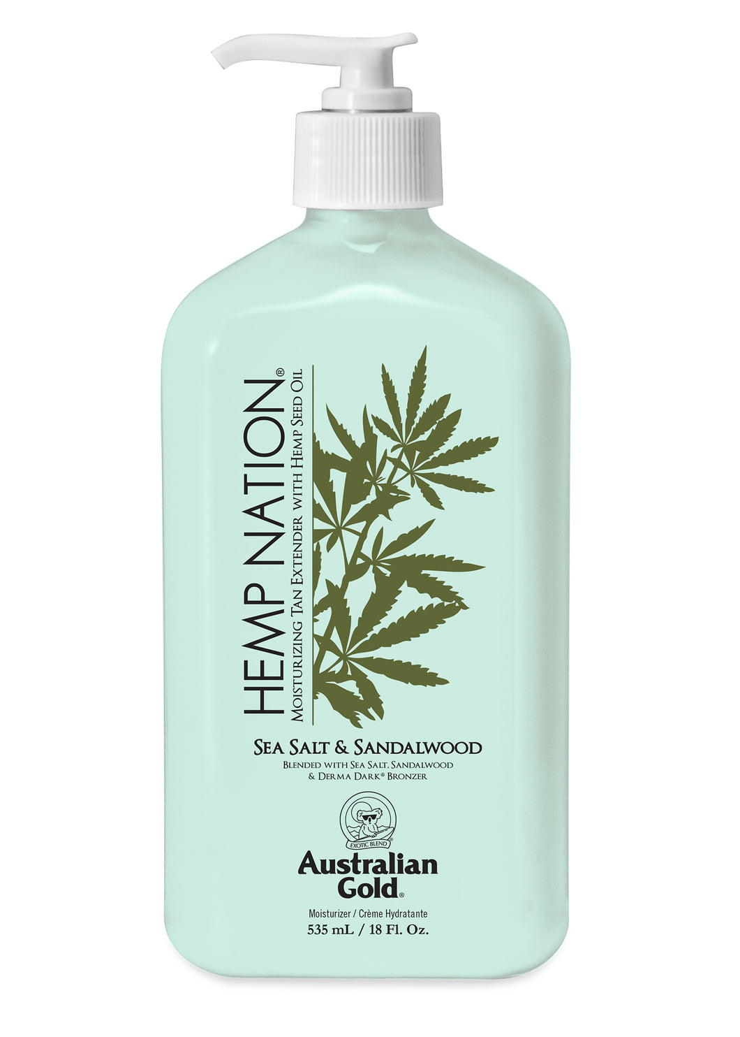 Hemp Nation Sea Salt & Sandalwood Tan Extender