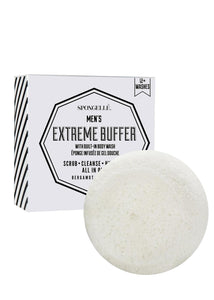 Spongelle Men's Super Buffer Bergamot Absolute