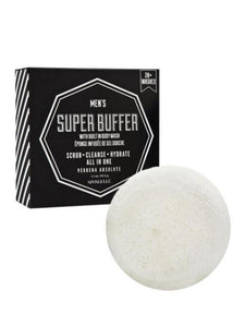 Spongelle Men's Super Buffer Verbena Absolute