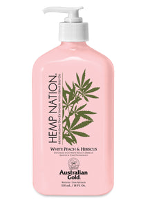 Hemp Nation White Peach & Hibiscus Tan Extender